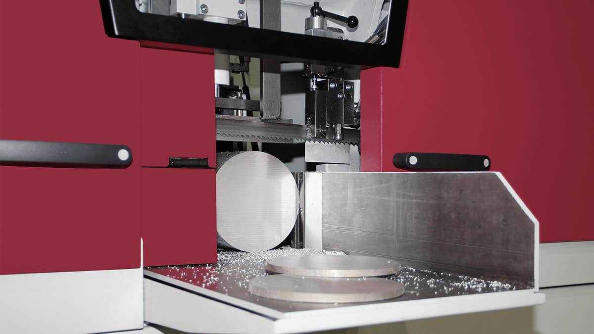 Behringer Bandsägeautomat HBE261A Dynamic mit verlängertem Materialtisch