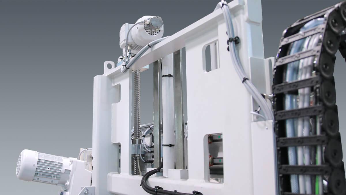 Behringer Bandsägeautomat HBE411A Dynamic Sägevorschub durch Servomotor