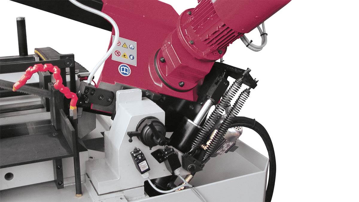 Behringer Metallbandsäge SLB240A hydraulischer Sägevorschub