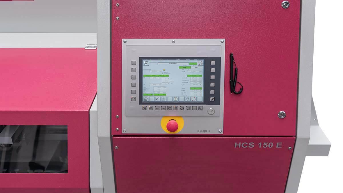 Behringer Eisele Metallkreissäge mit intuitive SPS Steuerung mit Touch-Screen