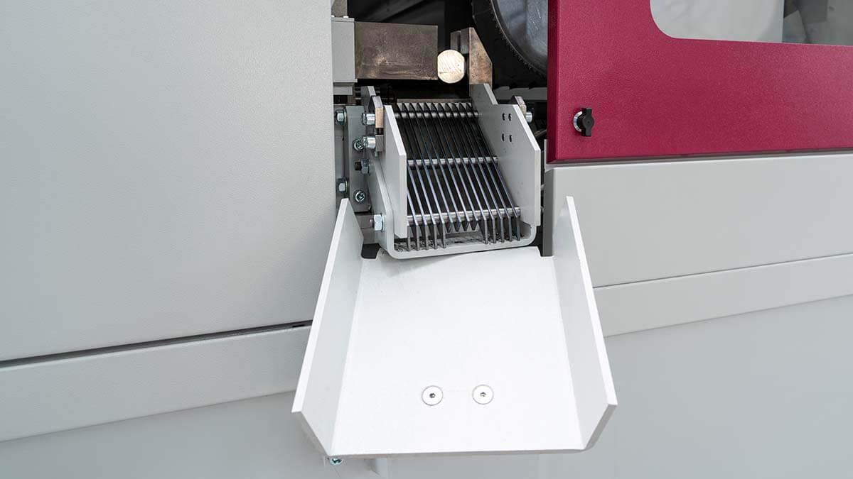 Behringer Eisele Metallkreissäge mit Sortierweiche zur Trennung von Anschnitten und kurzen Abschnitten