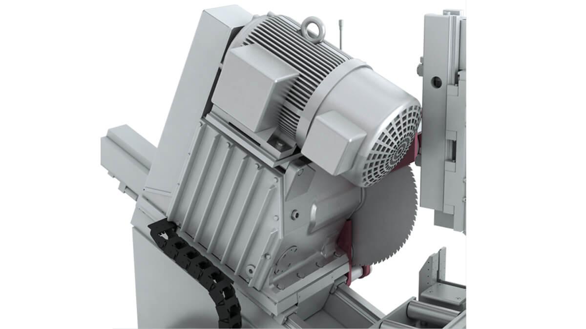 Behringer Eisele Metallkreissäge - Stabiles Getriebe aus eigener Herstellung