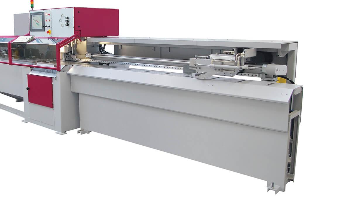 Behringer Eisele Unterflur-Kreissägeautomat PSU 450 A Abschnittgreifer