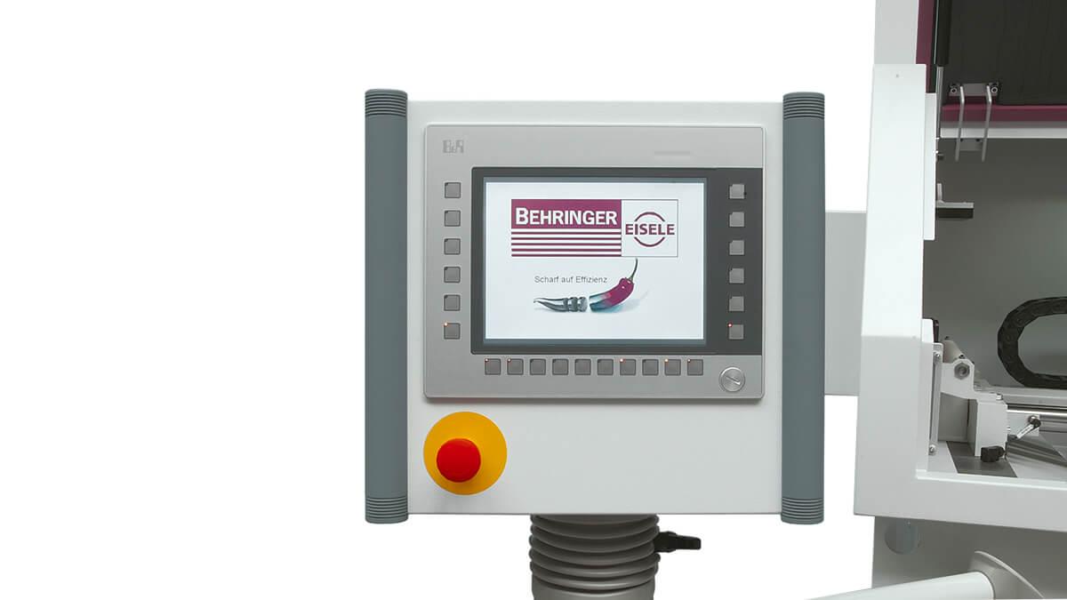 Behringer Eisele Aluminiumsäge VA-L 500 E intuitive SPS Steuerung mit Touch-Screen