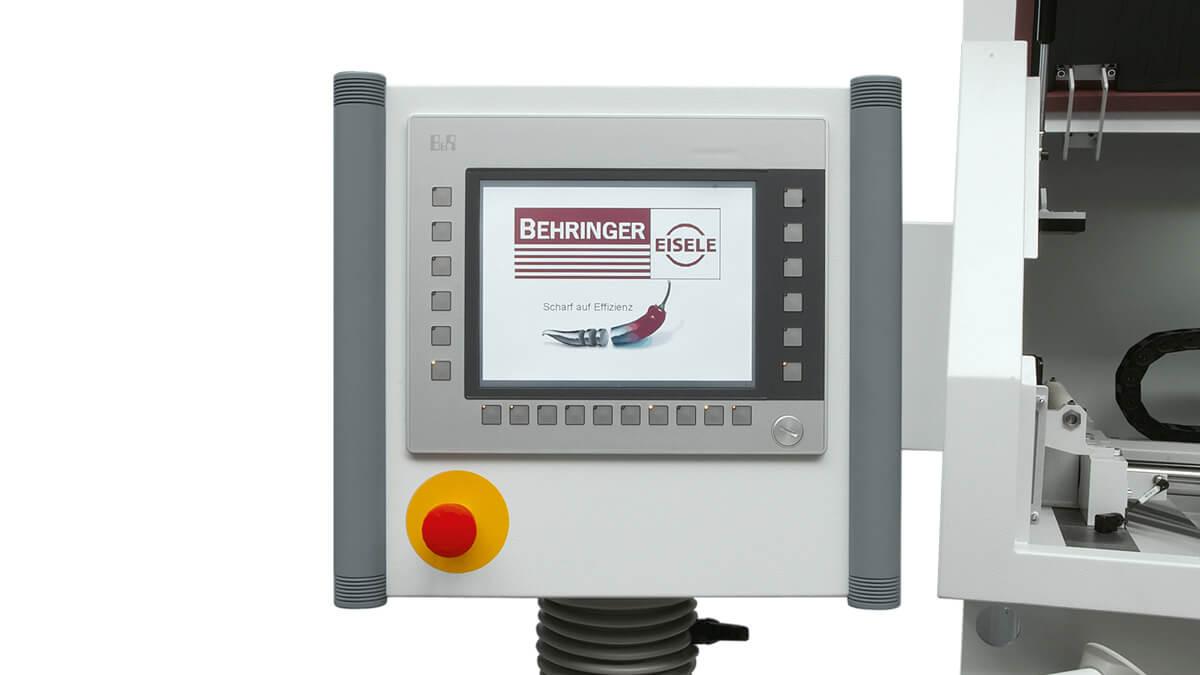 Behringer Eisele Aluminiumsäge VA-L intuitive SPS Steuerung mit Touch-Screen