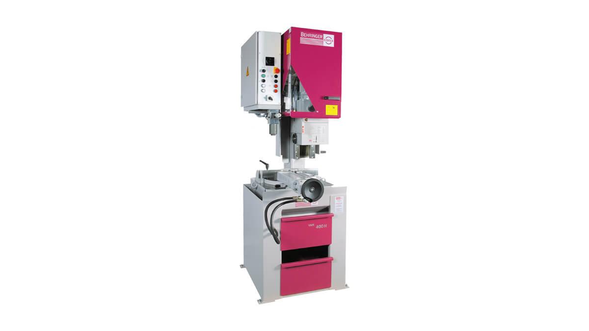 Behringer Eisele Vertikal-Metallkreissäge VMS 400 H mit hydraulischem Sägevorschub
