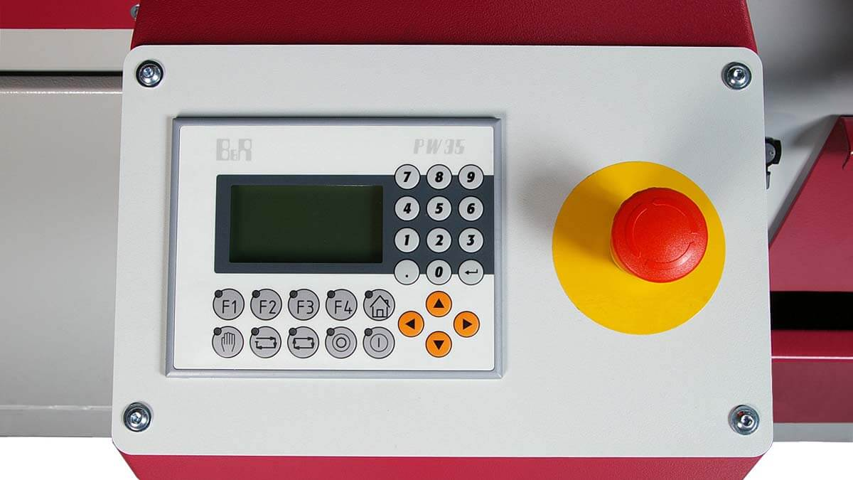 Behringer Eisele Vertikal-Kreissägeautomat VMS 400 A Steuerung